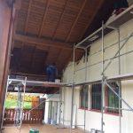 Außenaufbereitung Sportheim